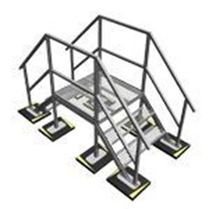 Custom engineered and pre-built Unistrut Rooftop Support Systems