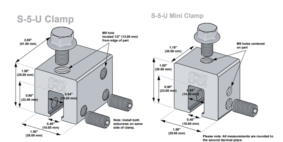 S-5-U clamps
