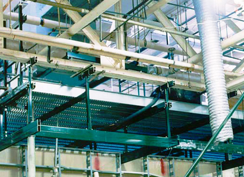 Catwalk and Mezzanine Systems | Roll-formed Grating Panels