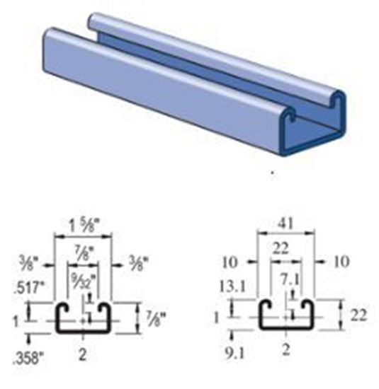 Buy Unistrut P3300 Channel Framing Strut Online Unistrut