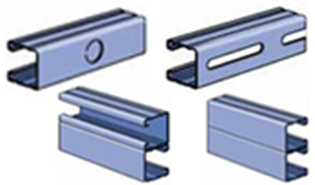 Picture for category P2000 Series Combinations & Pierced Channel Strut