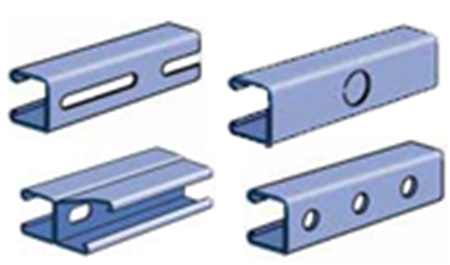 Picture for category P4000 Series Combinations & Pierced Channel Strut