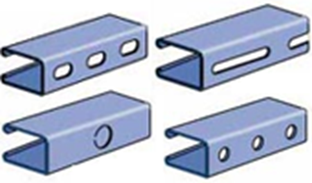 Picture for category P5500 Series Combinations & Pierced Channel Strut
