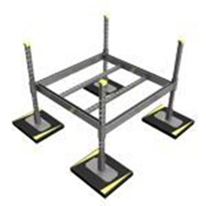 Picture of Medium Duty Equipment Dunnage Support
