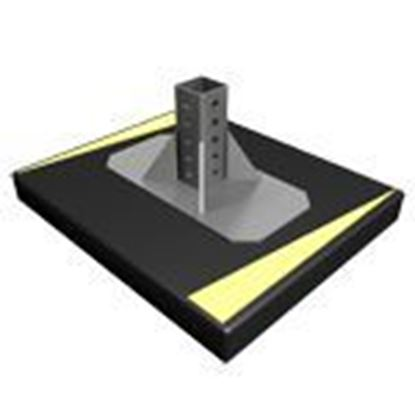 Picture of Heavy Duty Rooftop Support Base w/Gussets