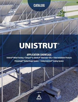 Download The Unistrut Application Showcase Guide