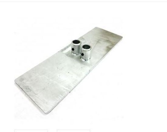 Picture of Roof guardrail base plates