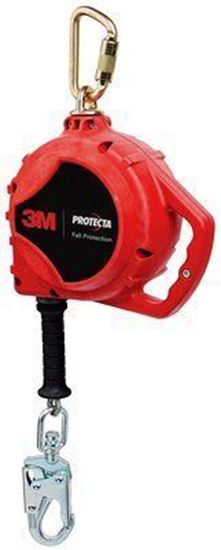Picture of 3M™ PROTECTA® Rebel™ Self Retracting Lifeline - Cable 3590514, Red, 20 ft. (6.1 m)