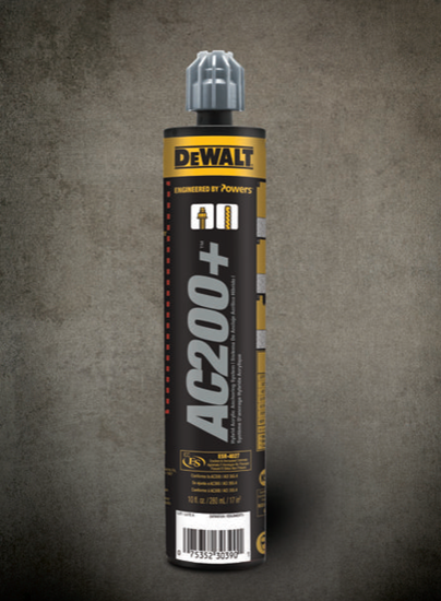 Picture of DEWALT AC200+™ Adhesive Anchoring System - 10oz - PFC1271050
