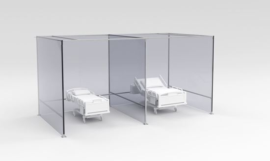 Picture of Unistrut Portable Hospital Rooms