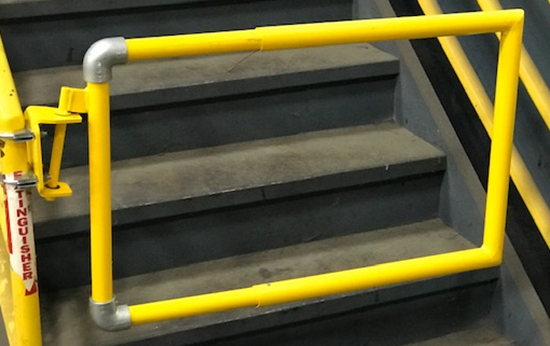 Picture of GEN2SG-Y Safety Guardrail Swing Gate
