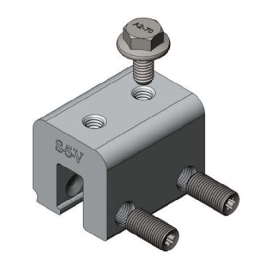 Picture of S-5! S-5-V Universal Metal Roof Attachment Clamps