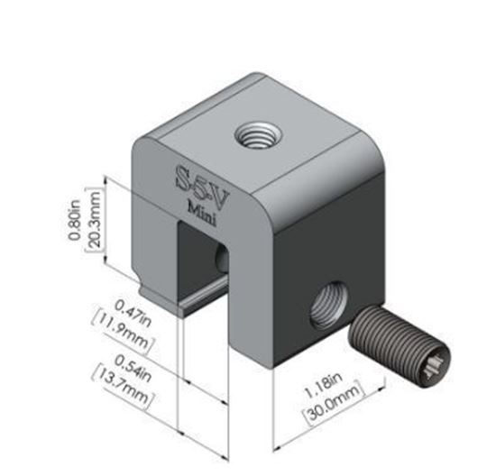 Picture of S-5! S-5-V Mini Universal Metal Roof Attachment Clamps