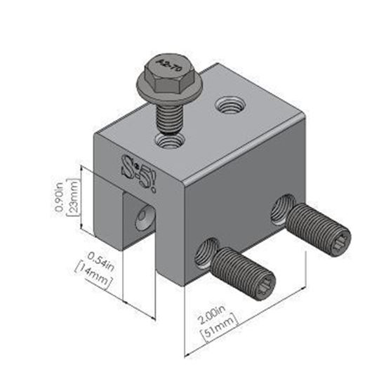 Picture of S-5! S-5-S Metal Roof Attachment Clamps for Snap Seam Profiles