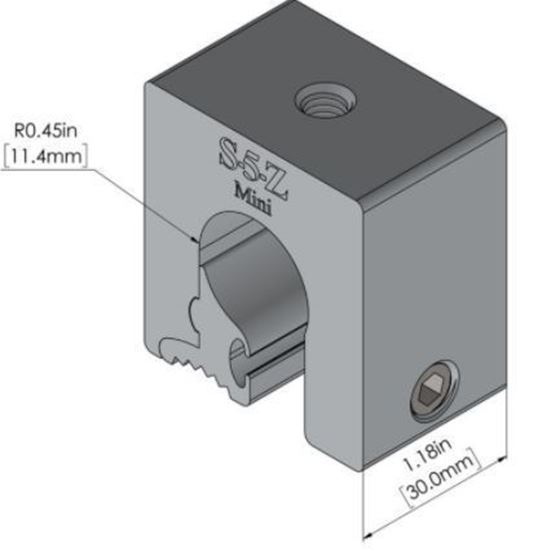 Picture of S-5! S-5-Z  Mini Attachment Clamps for Zip-Rib®, Kalzip®, and Bulb Seam Metal Roofs