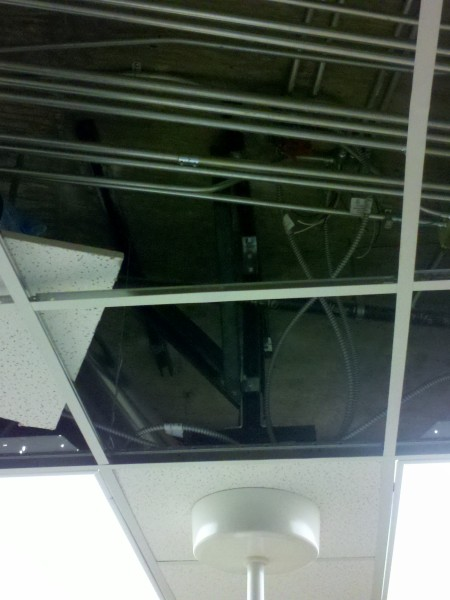 Unistrut Overhead Medical Support System Installation