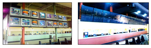 Casino before and after installation- Unistrut