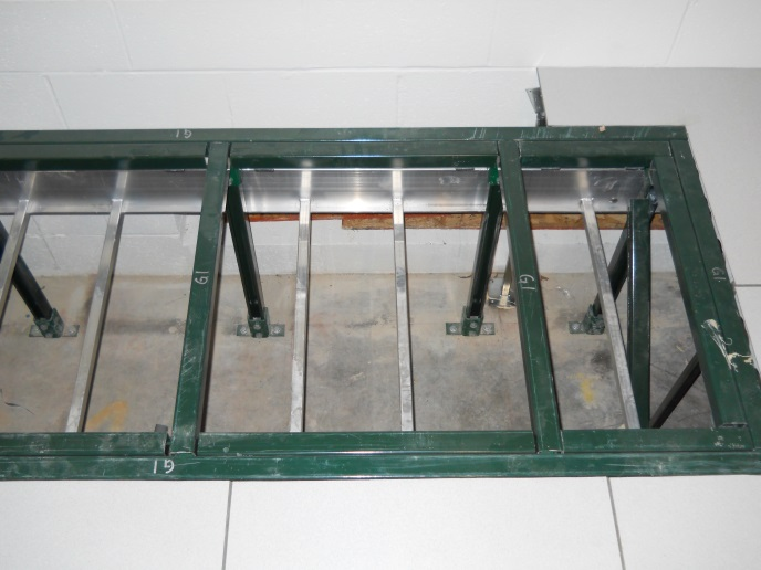 ... Equipment Support Structure For A 2,000 Lb. Server.