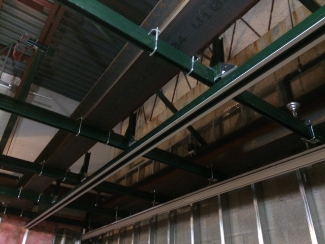 Metal Ceiling Support Beams: Ceiling Supports For Buildings Lacking Proper Structural