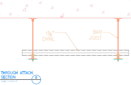 Threaded Rod Connection - Strut to Channel 2