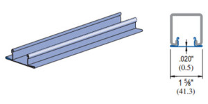 Unistrut P1184 Closure Strip