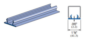 Unistrut P1184 P Closure Strip