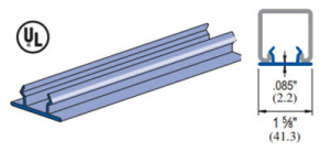 Unistrut P3184 P Closure Strip