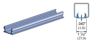 Unistrut P3712 P Closure Strip
