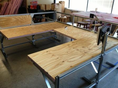 Building A Workbench With Unistrut Unistrut Service Co