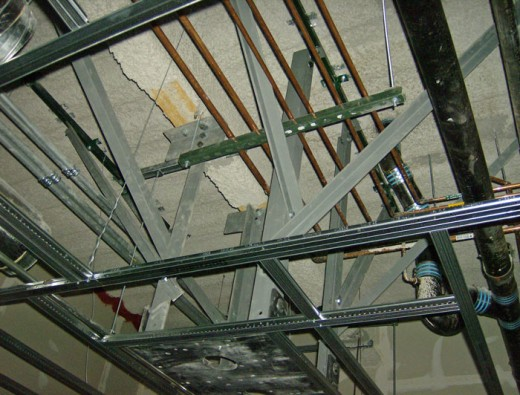 Structural Steel Boom Support System
