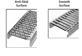 Interlock Grating Surface Options