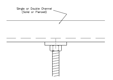 How To Attach Threaded Rod To Unistrut Channel Unistrut