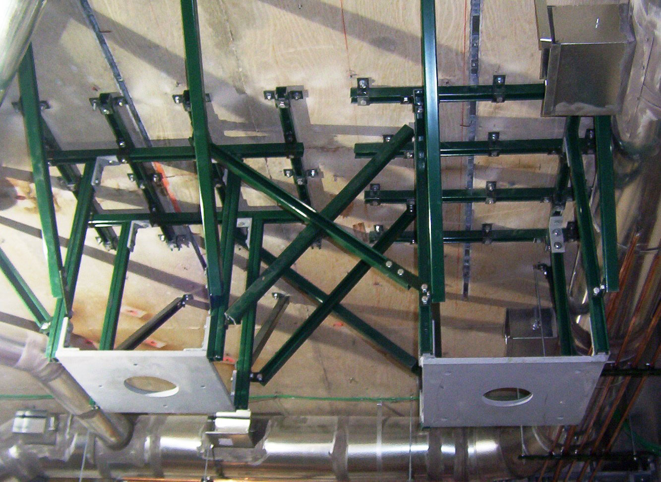 Unistrut Medical Equipment Support Structures